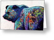 Watchful Eyes - Grizzly Bear Greeting Card by Joe  Triano