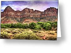 Watchman Trail - Zion Greeting Card