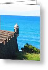 Watchtower Of San Juan Greeting Card