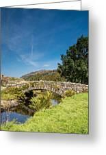 Watendlath Stone Footbridge Vertical Greeting Card