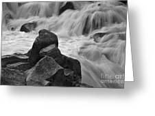 Water And Stone Nigel Creek 2 Greeting Card