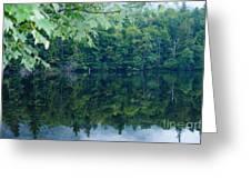 Water At Peace Greeting Card