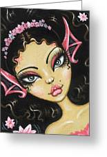 Water Blossom Greeting Card by Elaina  Wagner