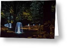 Water Dance Ll Greeting Card