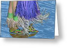 Water Dancing Greeting Card