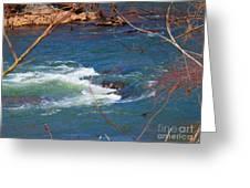 Water Detail 03 Greeting Card