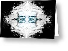 Water Explosion Greeting Card