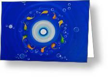 Water Eye Greeting Card