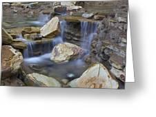 Water Fall Greeting Card