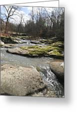 Water Fall Kentucky 2 Greeting Card
