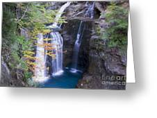 Water Falls Greeting Card by Stefano Piccini