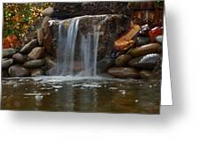 Water Feature Art Greeting Card