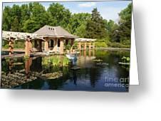 Water Garden Serenity Greeting Card