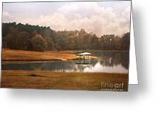 Water Gazebo Greeting Card
