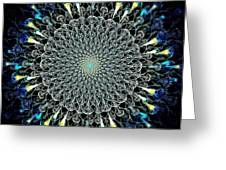 Water Glyph Greeting Card