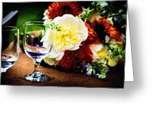 Water Goblet Greeting Card