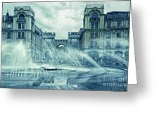 Water In The City Greeting Card