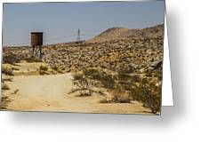 Water In The Desert Greeting Card
