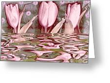 Water Landscape 2 Greeting Card