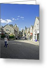 Water Lane - Bakewell Greeting Card