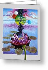 Water Lily Seeds Greeting Card