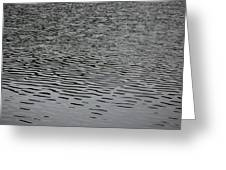 Water Lines Greeting Card