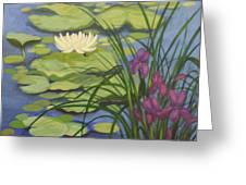 Water Lotus Greeting Card