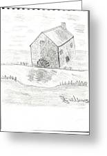 Water Mill Greeting Card