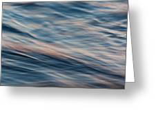 Water Movement - Abstract Greeting Card by Matt Dobson
