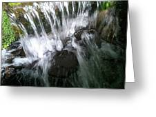 Water Noise And Light Greeting Card