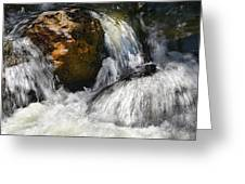 Water On The Rocks 2 Greeting Card