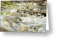Water Over The Dike Greeting Card