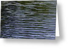 Water Pattern Greeting Card