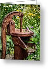 Water Pump Greeting Card