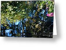 Water Reflections 7 Greeting Card