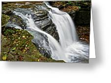 Water Rushes Forth Greeting Card