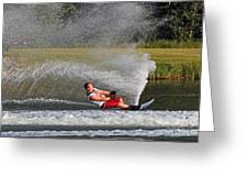 Water Skiing 10 Greeting Card