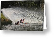 Water Skiing 12 Greeting Card