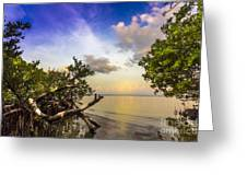 Water Sky Greeting Card