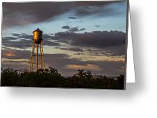 Water Tower Nm Greeting Card