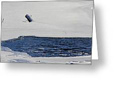 Water Trail Greeting Card