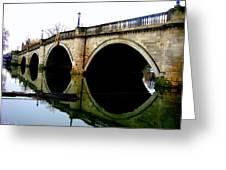 Water Under The Bridge Greeting Card