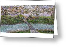 Water Under The Bridge Greeting Card by Leo Gehrtz