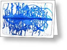 Water Variations 13 Greeting Card