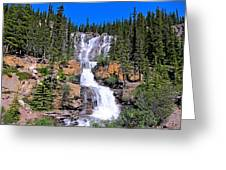 Water Water And More Water Hence Waterfall Greeting Card