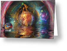 Water Worlds Greeting Card