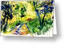 Watercolor 318012 Greeting Card