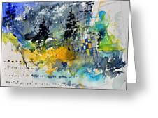 Watercolor 414062 Greeting Card