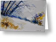 Watercolor 419082 Greeting Card