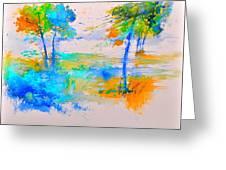 Watercolor 45314012 Greeting Card